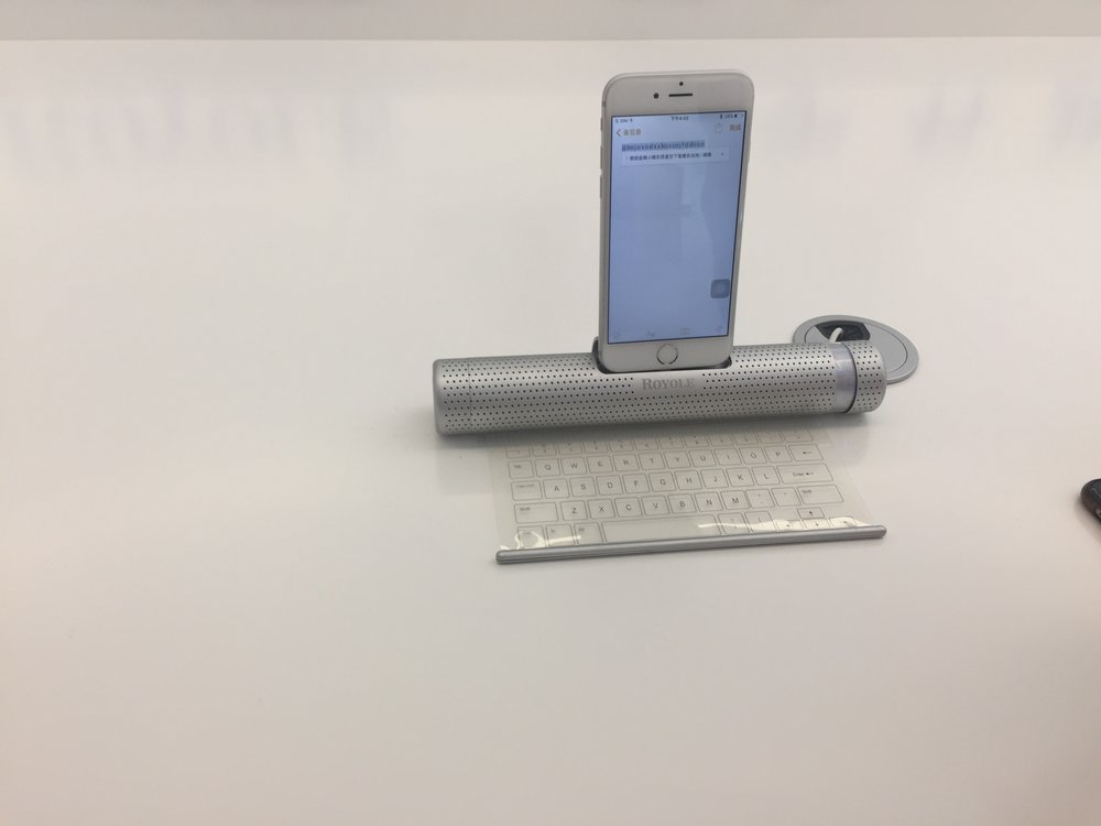 Royole's sensor keypad - it's awesome