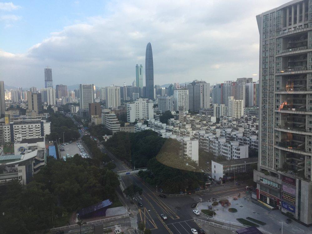 Shenzhen (pop. 11 million)