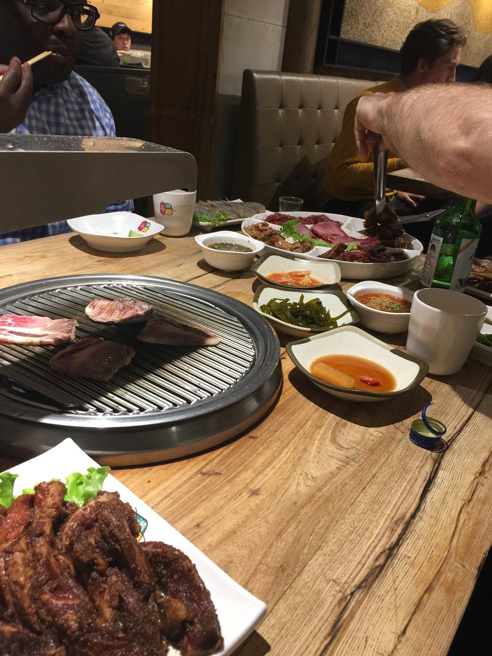 Korean BBQ delicious