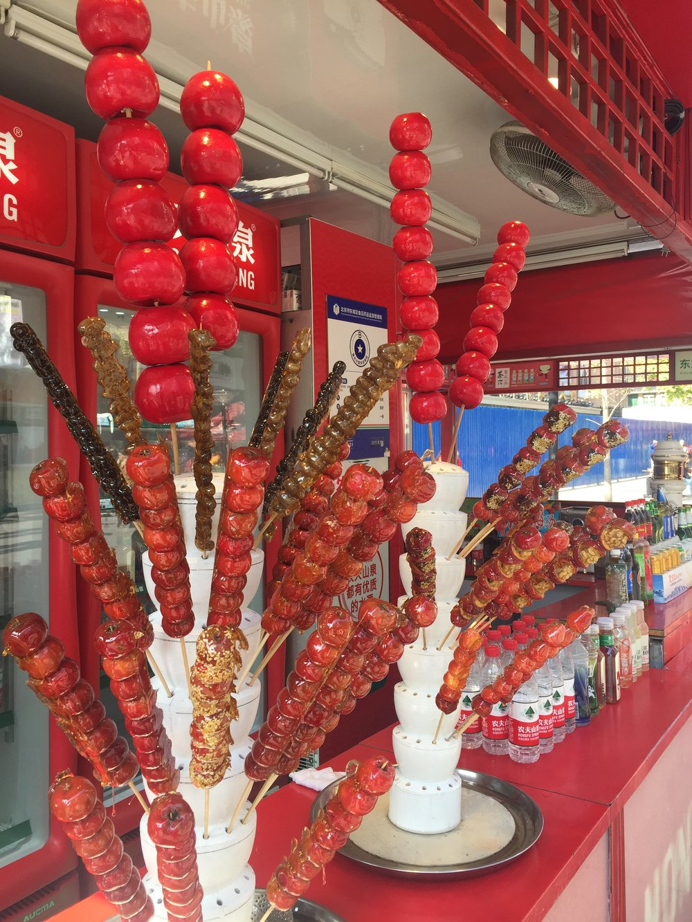Sweets on a stick