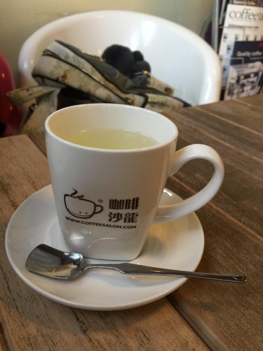 Grapefruit tea - wonderful