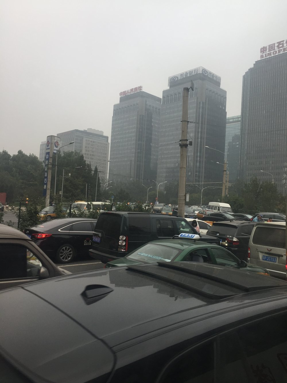Smog and traffic, two big challenges in Beijing