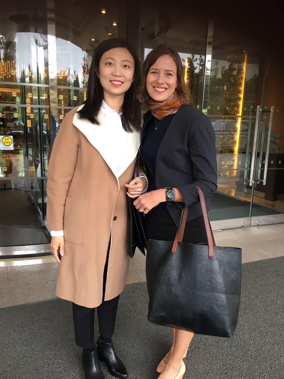 "Wan Chun ""Mary"", a wonderful translator and now dear friend"