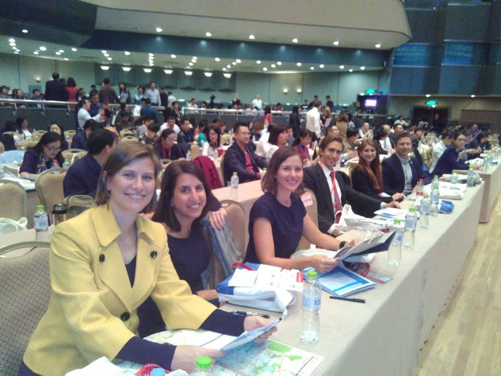 EF Fellows front row at the Ministry of Education's key conference