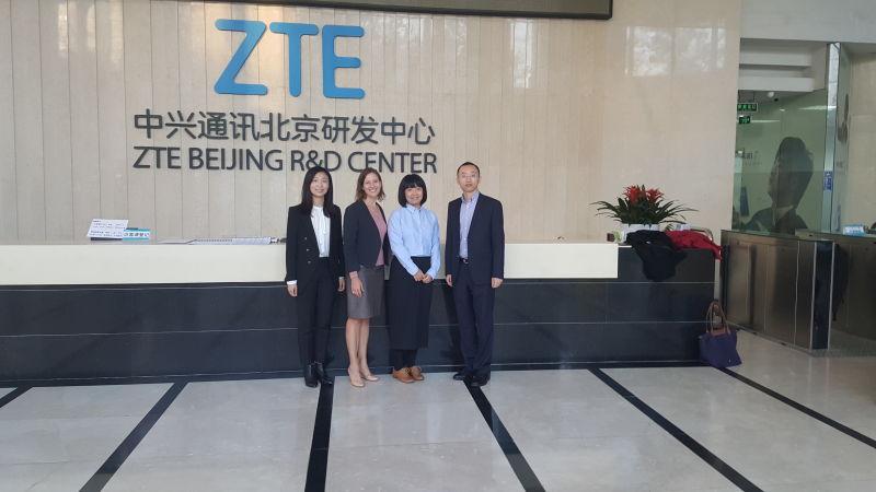 Smart city folks at ZTE