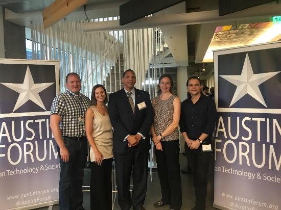 Jay Boisseau (Austin Forum); Chelsea Collier (Digi.City); Stephen Elkins, Jen Duthie, Ben Guhin (City of Austin).