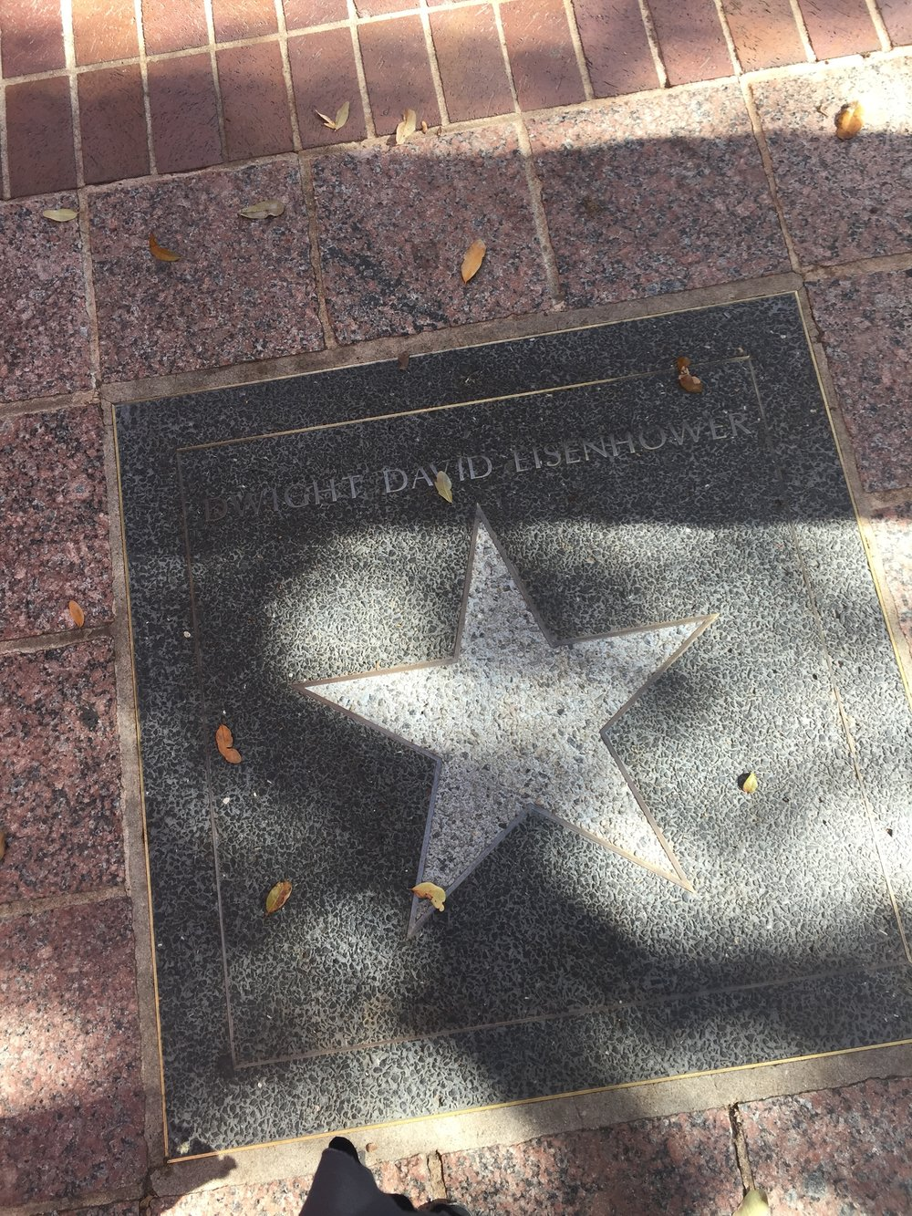 And on the Austin streets just a few blocks from our EF Day at SXSW, a star for President Dwight D Eisenhower. What a journey.
