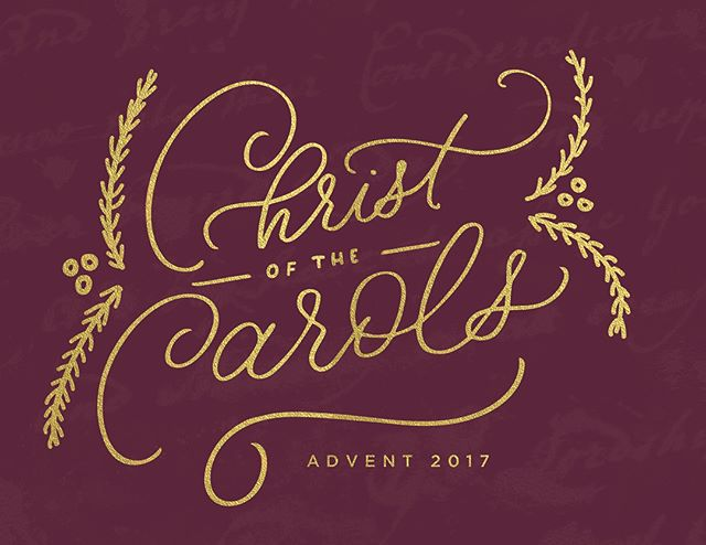 I loved getting to work on some of the artwork for @citylightphilly's advent sermon series, along with @heyoverherecreative and lots of other talented people on the communications team. AND getting to see all of that hard work made into a devotional for the congregation was super exciting. Plus I really love advent and I really love carols so it was kind of a win all around 🙃 so excited for this series!