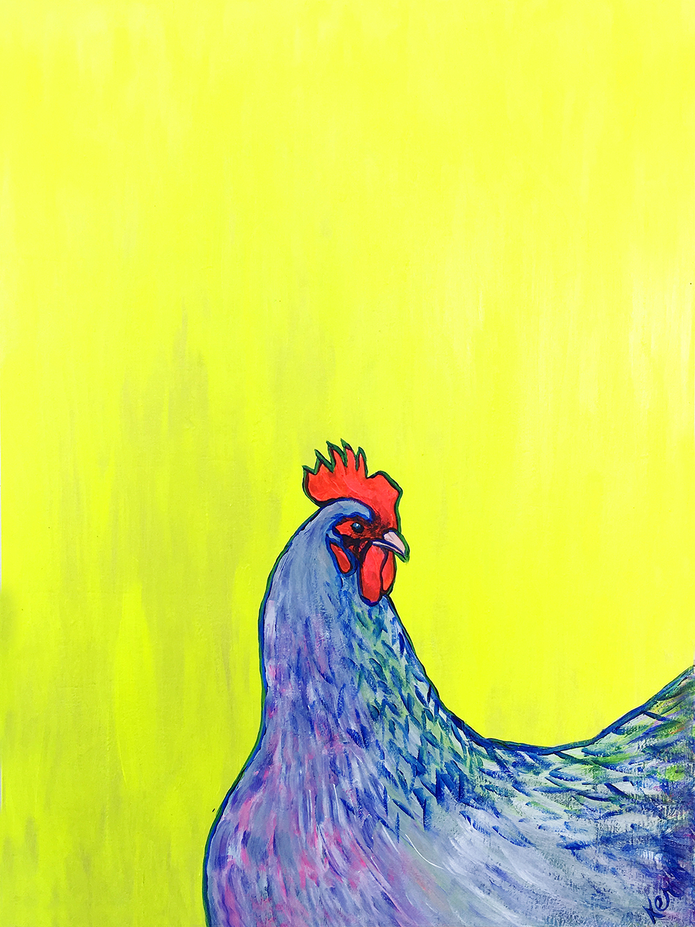 Neon Chicken No. 1