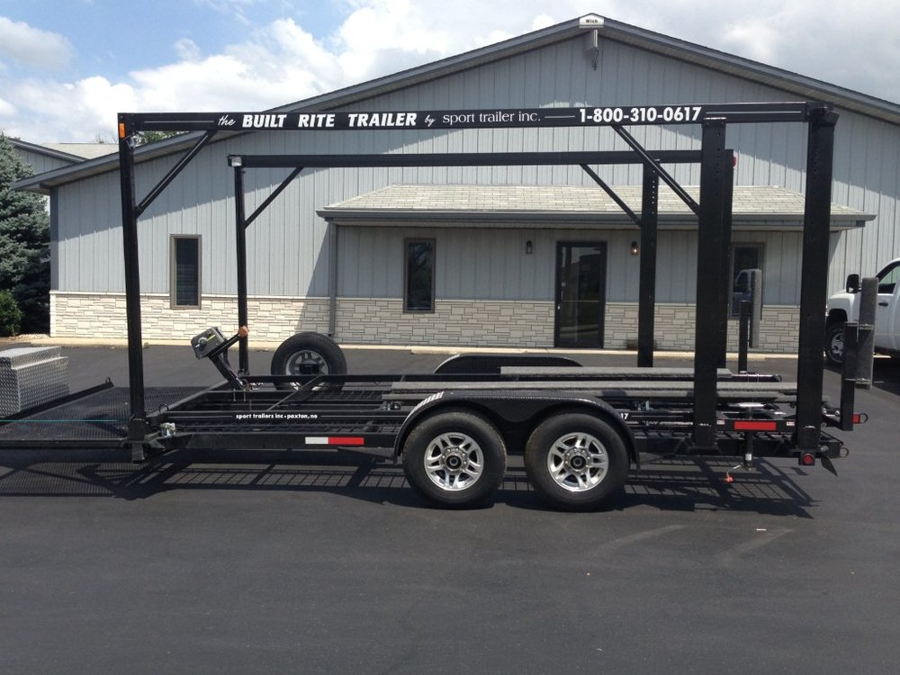 Open-Body Stacker & Double Decker Trailer Options & Features
