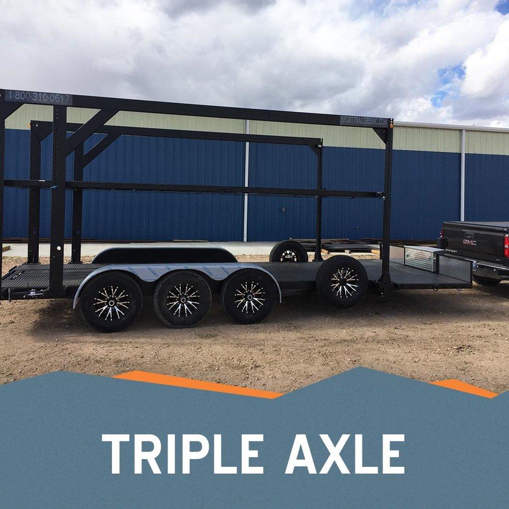 Triple Axle
