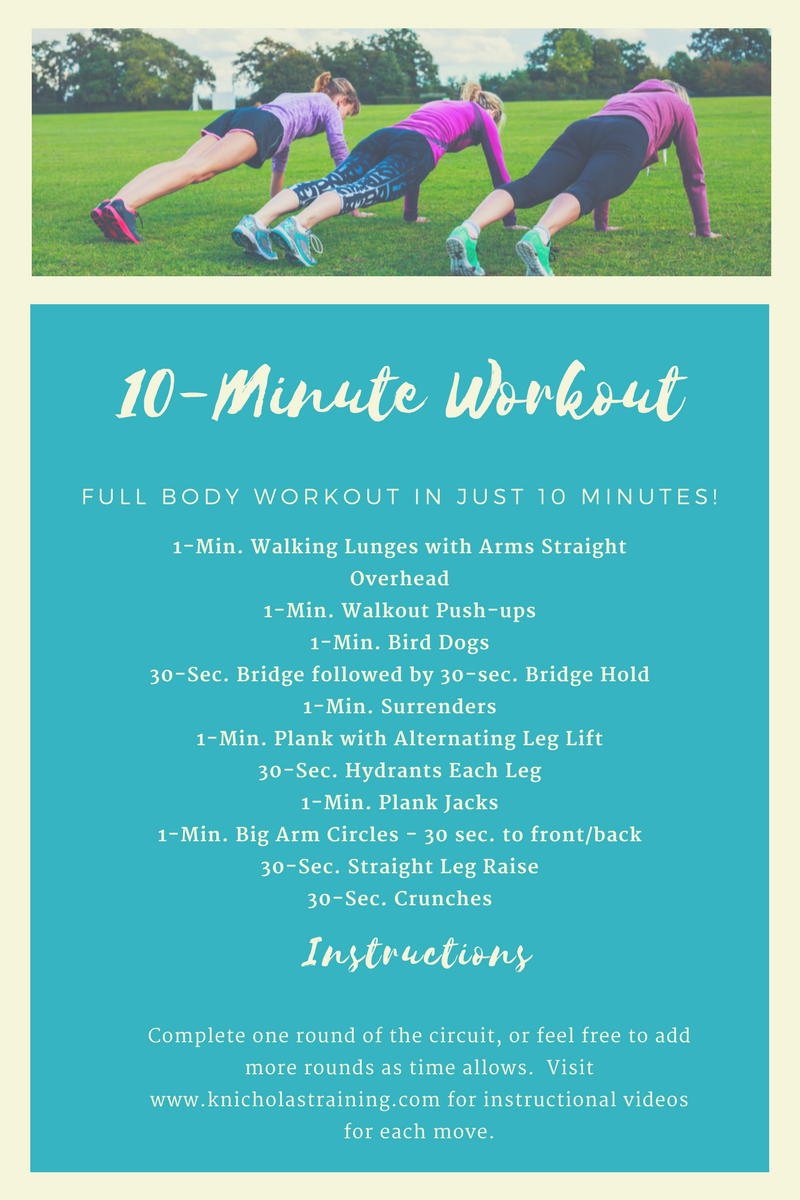10-Minute Full-Body Workout