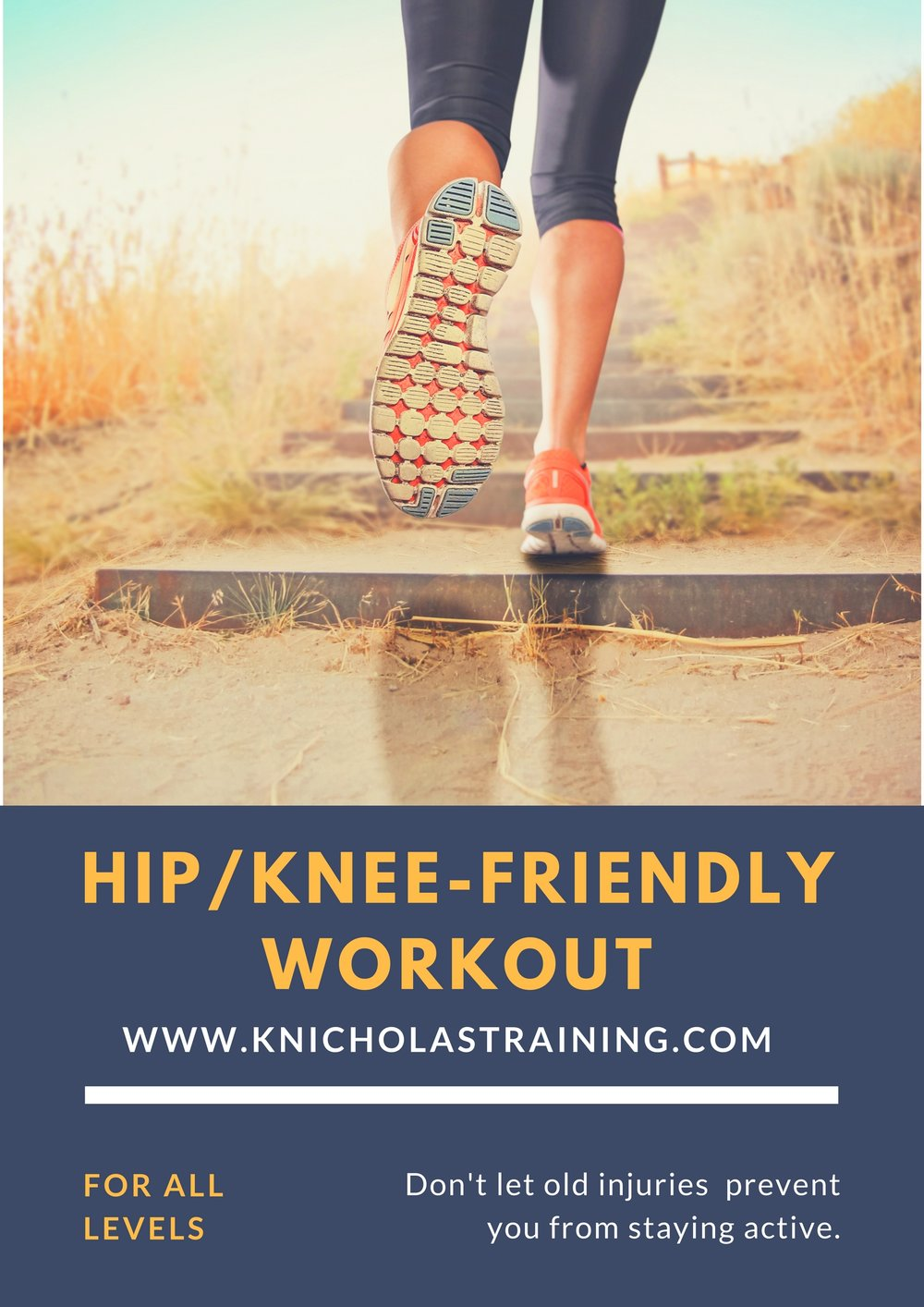 Hip/Knee-Friendly Workout