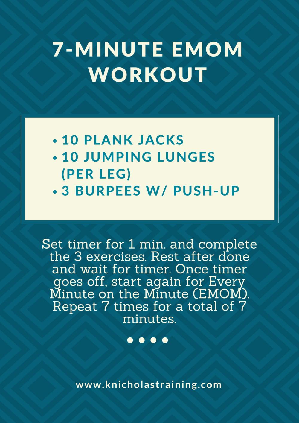 7-Min. EMOM Workout