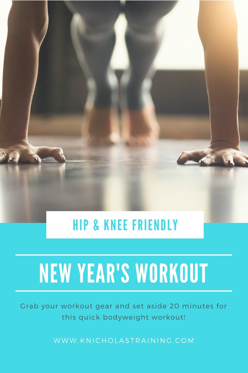 New Year's Hip/Knee-Friendly Workout
