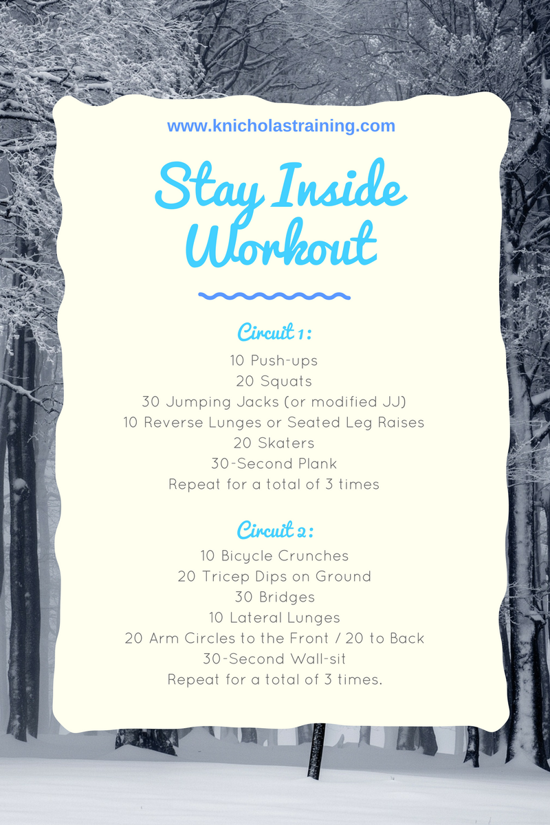 Stay Inside Low-Impact Workout