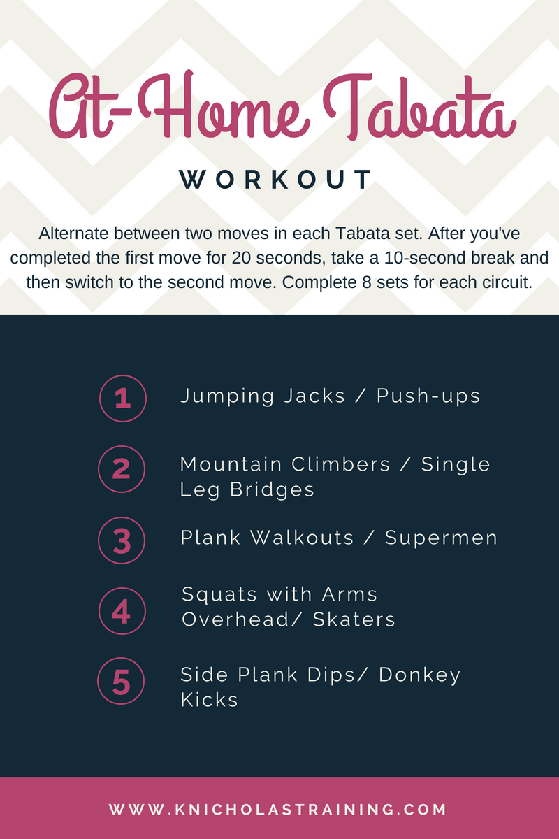 At-Home Tabata Workout