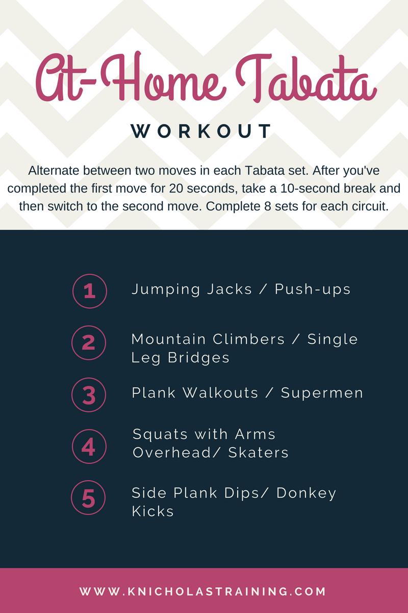 At-Home Tabata Workout