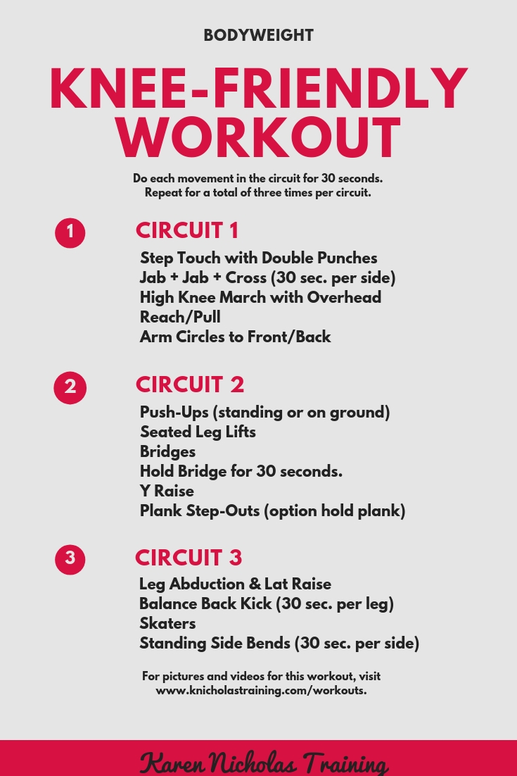 Low-Impact Workout for Bad Knees