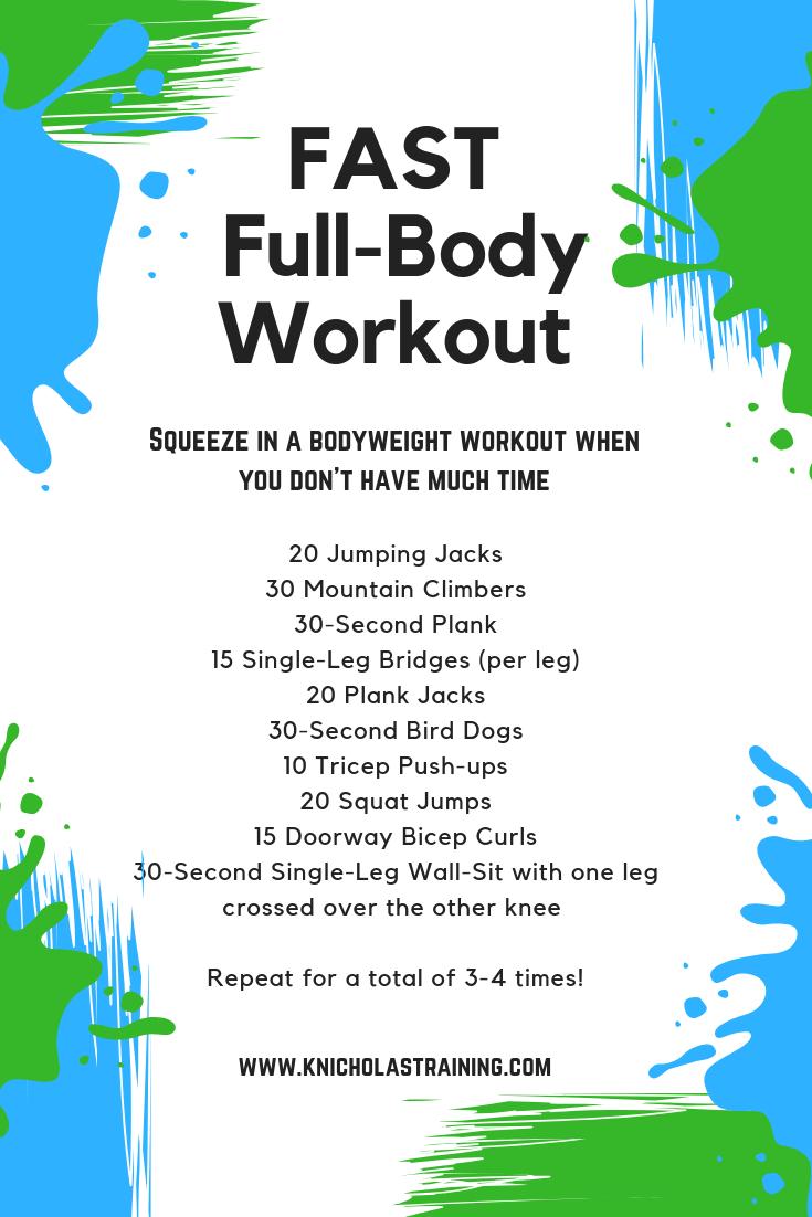 Fast, Full-body Workout