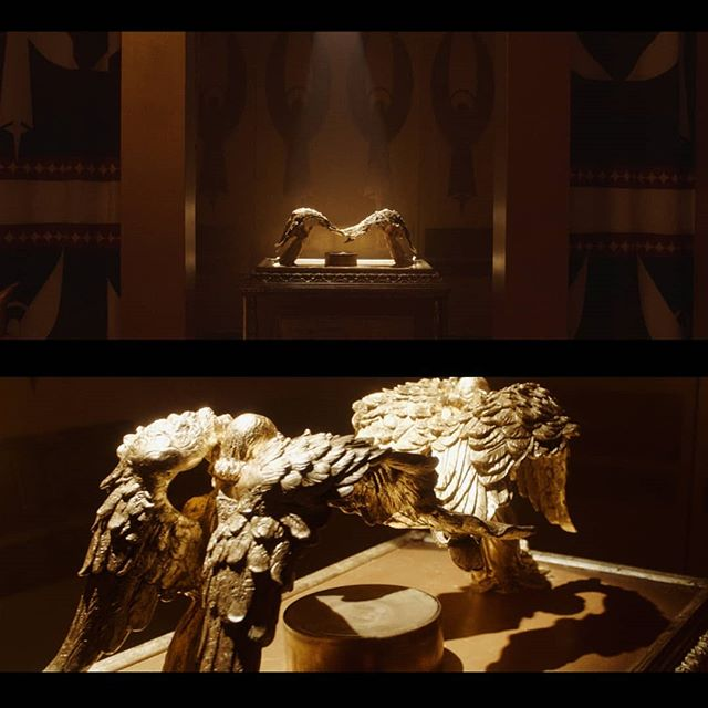 Had a blast lighting this ark of the covenant. I think I fufilled a childhood dream I didn't realize I had lol. I used to love watching Indiana Jones. Although this definitely isn't an action packed adventure tale 😂. . . . . . . . . . #cinematography #cinematographer #freelancemusttag #framez #sfc #ark #covenant #indianajones #framegrab #arri #alexamini