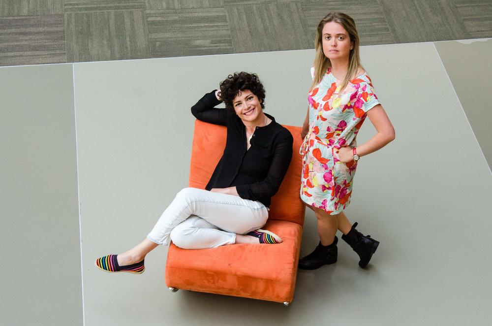 Francesca Cavallo and Elena Favilli, co-founders of Timbuktu Labs