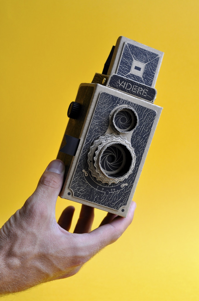 The Videre pinhole camera.
