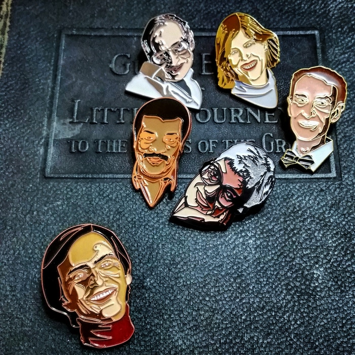 Clifton's POP Science enamel pins