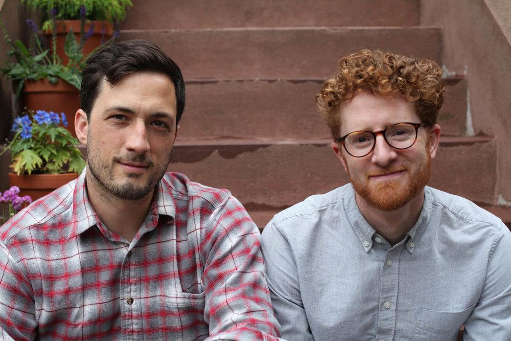 Spencer Wright (left) and Zach Dunham