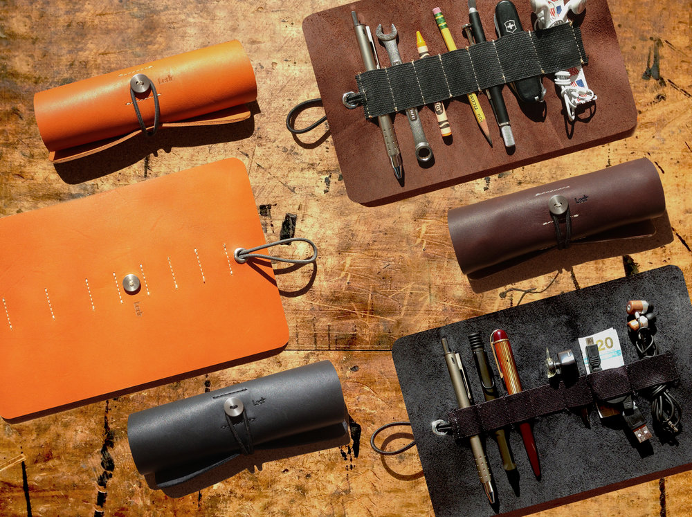 The Ledr tool roll