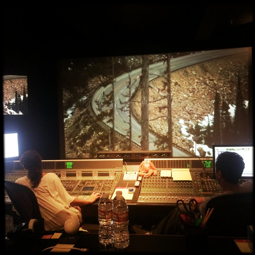 Sound mixing  For Thousands of Miles