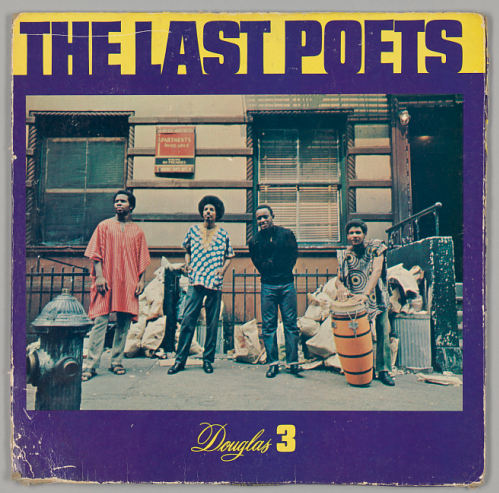 The Last Poets, Douglas 3. Part of the National Museum of African American History and Culture's collection.