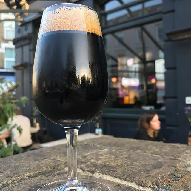 🍁🍂It's Porter weather! 🍂🍁We've got this absolute beauty from our friends at @fivepointsbrew which we've been cellar ageing for a year! Derailed Porter is Railway Porter legged with Brettanomyces, which adds a delightful fruitiness and dryness! This won't last long!! #beer #craftbeer #beerporn #cerveza #birra #biere #bier #pivo #piwo #öl #øl #beergeek #craftnotcrap #nocrapontap #beerphotography #london #hackney #clapton #brett #porter #brettanomyces #autumnal