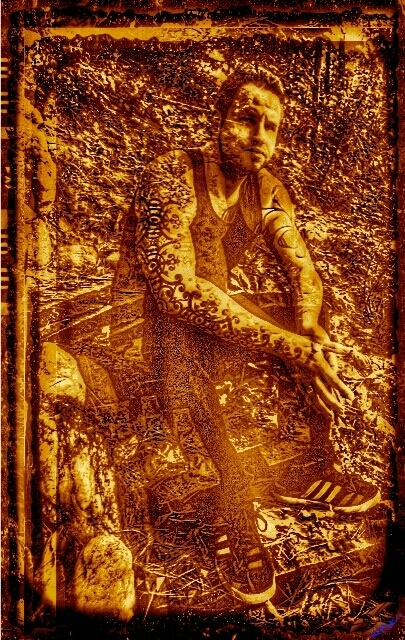 Jonah in Sepia