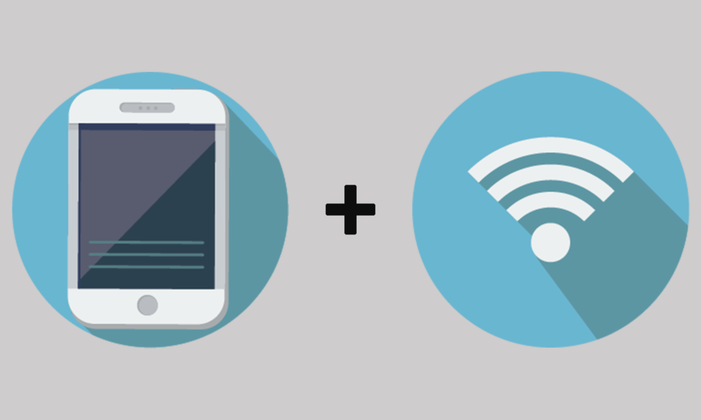 Smartphone and/or Tablet + Wi-Fi