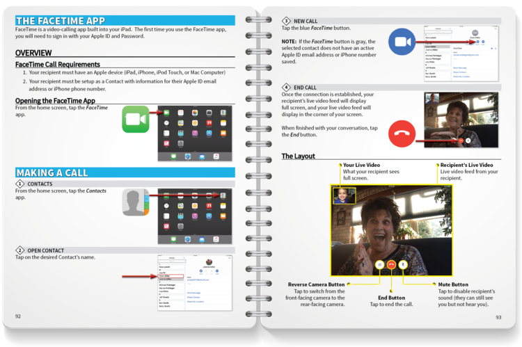 iPad Learning - Many professional and family caregivers are new to mobile technology. Our team has designed a series of resources designed to help new learners adopt one of the most effect tools for engagement - the iPad.