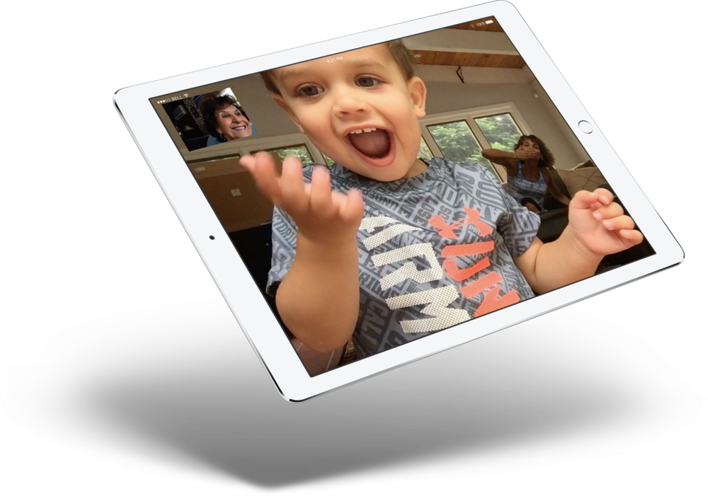 For many new users, using FaceTime to connect with remote friends and family is extremely useful.
