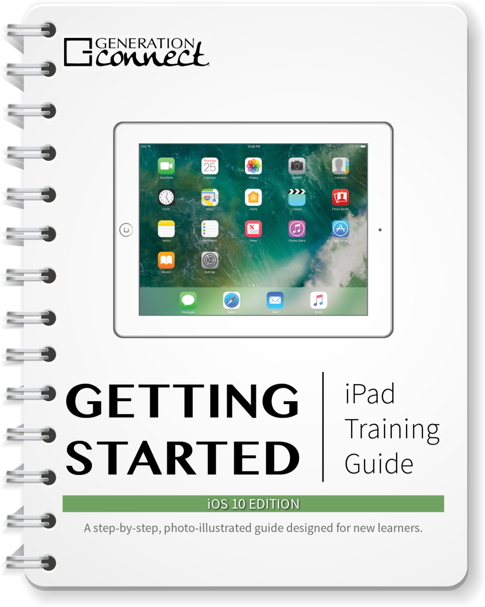 Click on the image to learn about the iPad Getting Started Guide.