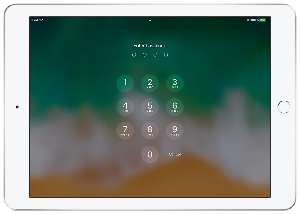 Using a Passcode to require physical access to the device is one of the best ways to ensure security.
