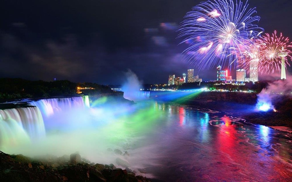 Colorful-Lights-And-Fireworks-Over-The-Niagara-Falls-At-Night.jpg