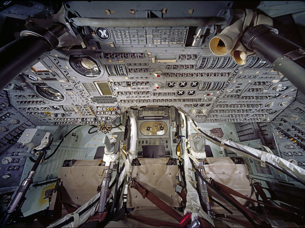 Inside the Command Module