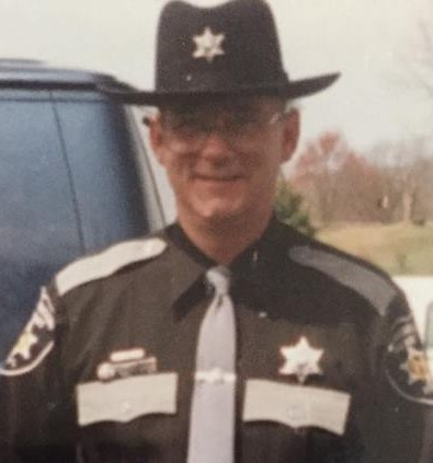 My father in his sheriff's uniform.