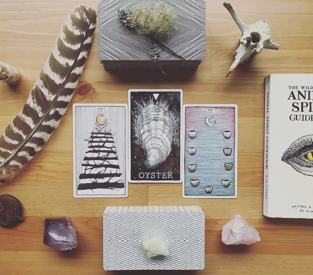 I hope you all had an illuminating day yesterday and continue to ride that pisces wave of transformation. The energy around us is ripe for shadow work, for healing, for expressing. Yet, there can be many obstacles between us and our self-expression. Shame, fear, insecurity, low self-esteem, depression, lack of self-value, anxiety, oppression, etc. This is why facing your darkness, your fears and forgotten resentments/disappointments, is such an important part of the creative and transformative process. Without dealing with these parts of ourselves, our creative spirits are in danger of being locked behind all the nonsense, and even worse, we might even take comfort in that trap and call it hiding.  The mix of fire and water in the stars and in the air, are coming together to aid us in breaking out of our internal prisons, to burst through our obstacles and burn the rest. But our participation is still necessary. It is not too late for you to tune in to yourself and the energy of the stars, this energy is still present. Sit down, quiet your mind, meditate, and reflect (check the Pisces Eclipse tarot spread I created and shared yesterday to aid your reflection). We are being asked to muster our courage, our energy, and take the scary, hard steps toward our liberation and joy. This is true on both the collective and personal level.  I know a new day is dawning within each and every one of us. We are all part of this cultural, spiritual, and political revolution. I know we are all feeling it, like a simmering pot about to boil over. And therefor it is up to all of us to share our visions, our plans, our ideas, our action, our resistance! We are being called, called to be and fight for the highest good. We must gather the courage and energy to share, to fight, to climb, to dream, to wish, to do, to move, to create, to care, to clean, to change and transform the world!!  Harmony and peace or bust. Equality or bust. Eco-friendly world or bust. Economic justice or bust.  I 