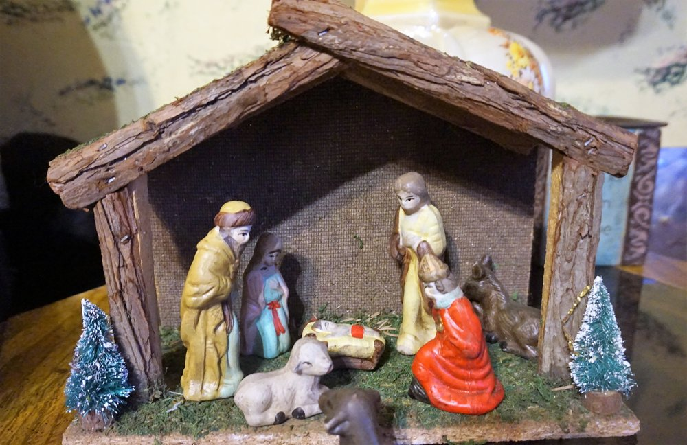 The nativity scene