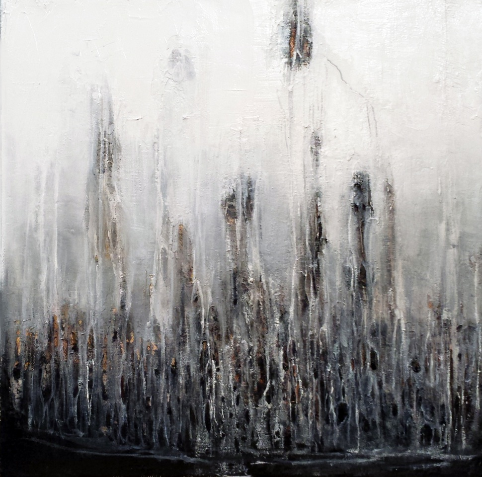 Evening Drizzle - 12_ x 12_ - Oil on canvas.jpeg