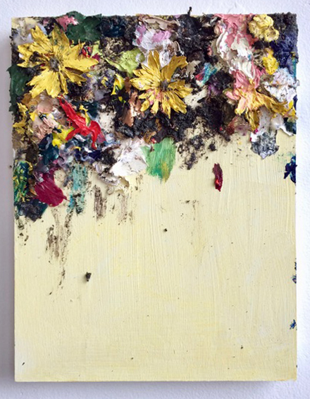 Floral Collage, Yellow