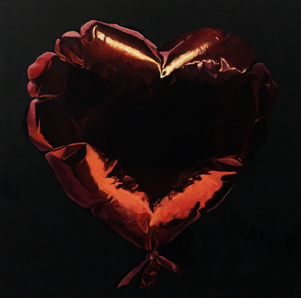Love No. 1 (red heart)
