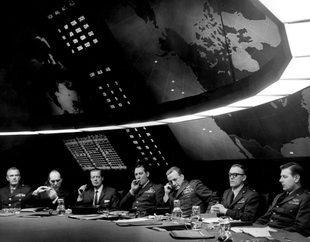 Lawrence Kasdan on  Dr. Strangelove