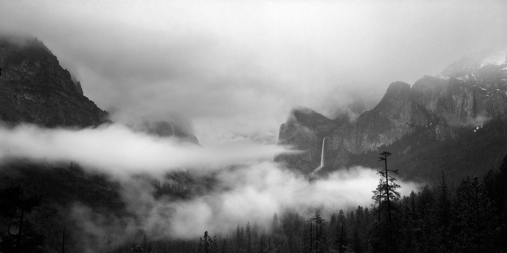 Clearing Spring Storm - Yosemite National Park