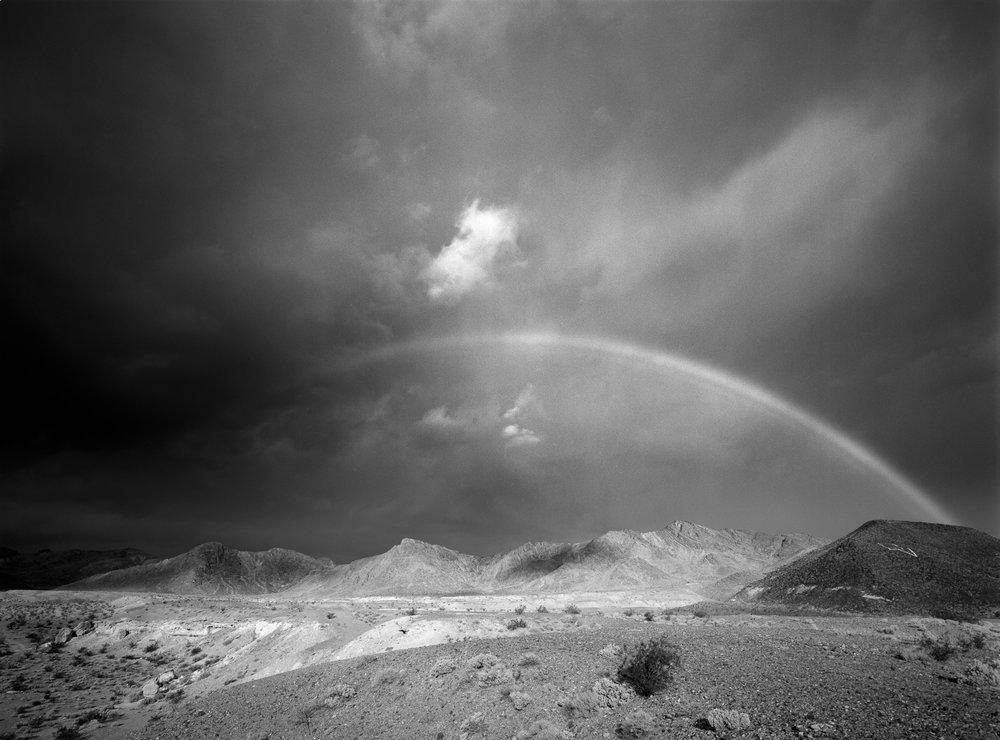 Rainbow over Shoshone - Shoshone, CA